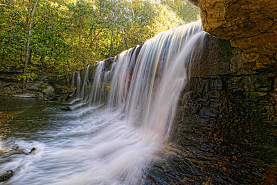 Waterfall Digital Art - Anderson Falls by Shari Jardina