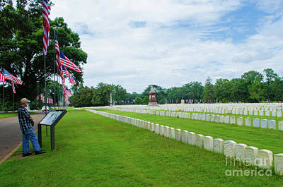 Photograph - Vietnam Veteran At Andersonville Georgia by Donna Brown