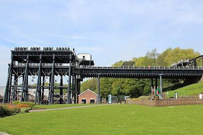Photograph - Anderton Boat Lift by JLowPhotos