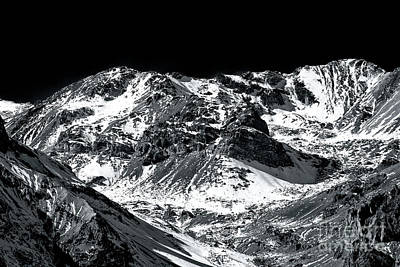 Photograph - Andes Curves At Valle Nevado In Chile by John Rizzuto