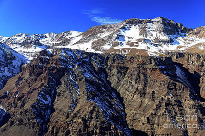 Photograph - Andes Majesty In Chile by John Rizzuto