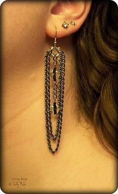 Gunmetal Jewelry - Andi by Dolly Mohr