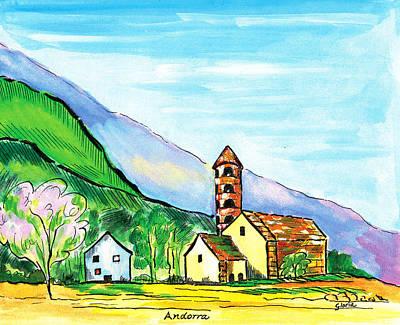 Andorra Art Print