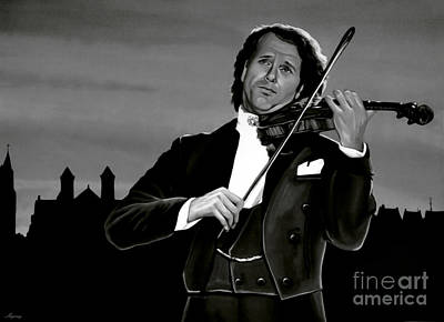Music Concert Mixed Media - Andre Rieu by Meijering Manupix