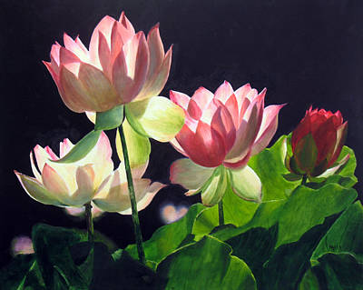 Painting - Andrea's Lillies by Marina Petro