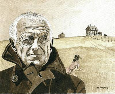 Andrew Wyeth Painting - Andrew And  Christina by Jeff Blazejovsky