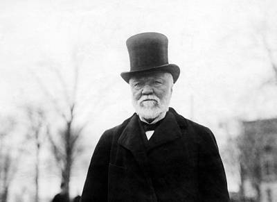 Andrew Carnegie, 1912 Art Print by Everett