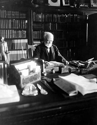 Andrew Carnegie, April 5, 1913 Print by Everett