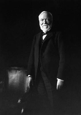 Robbers Photograph - Andrew Carnegie by War Is Hell Store