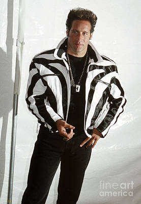 Print featuring the photograph Andrew Dice Clay 1989 by Chris Walter