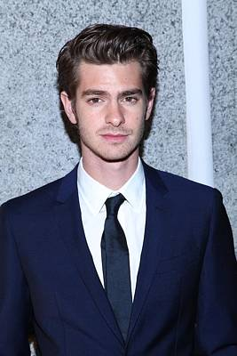 Andrew Garfield At Arrivals For The Art Print