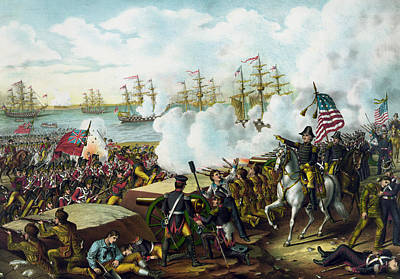 War 1812 Painting - Andrew Jackson -- Battle Of New Orleans by War Is Hell Store