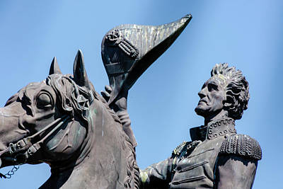 Photograph - Andrew Jackson by Chris Coffee