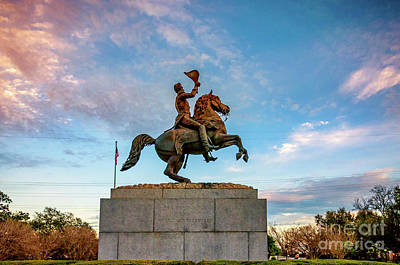 Photograph - Andrew Jackson by Kathleen K Parker