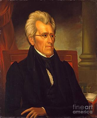 Andrew Jackson  Art Print