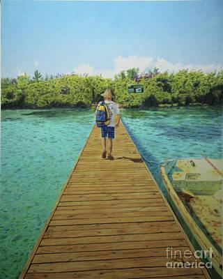 Andrew Art Print by Jennifer Watson