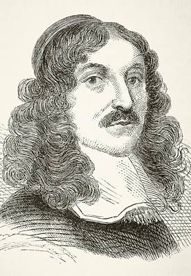 Andrew Marvell 1621to 1678, English Art Print