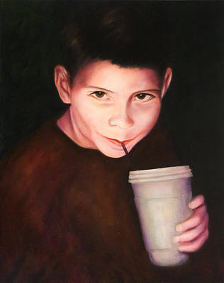 Painting - Andrew by Shannon Grissom