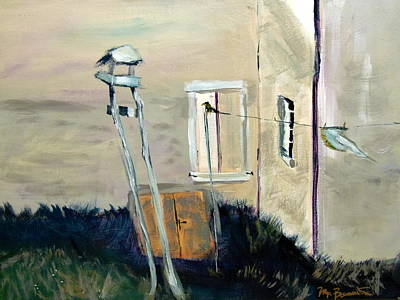 Andrew Wyeth Painting - Andrew's Neighbor by Max Bowermeister