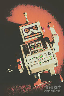 Android Short Circuit  Art Print