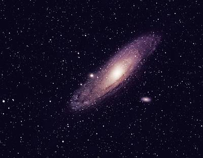 Photograph - Andromeda Galaxy by Alan Conder