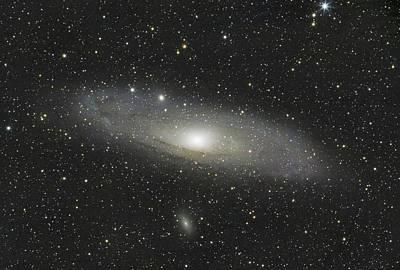 Photograph - Andromeda Galaxy by David Watkins