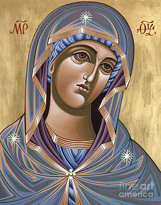 Painting - Andronicus Icon Of The Mother Of God Consoler Of Mothers 123 by William Hart McNichols