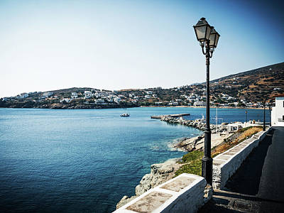 Greece Photograph - Andros Island - Batsi -- Greece by Alexander Voss