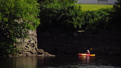 Photograph - Androscoggin River Kayaking by Bill Tomsa
