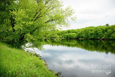 Photograph - Androscoggin River by Alana Ranney