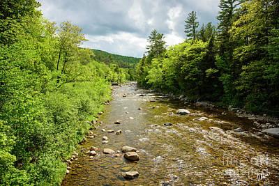 Photograph - Androscoggin River Gilead by Alana Ranney