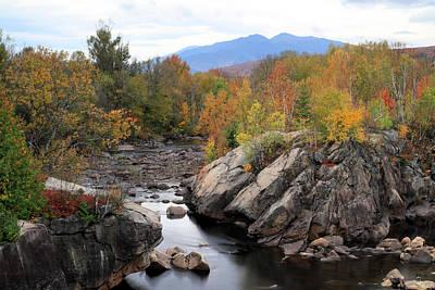 Androscoggin River With Autumn Colors Art Print