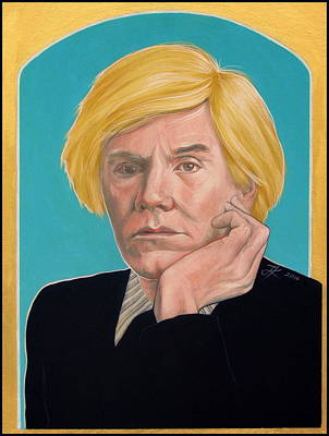 Painting - Andy Warhol by Jovana Kolic