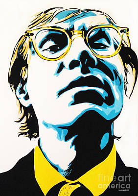 Painting - Andy Warhol Part Two. by Nancy Mergybrower