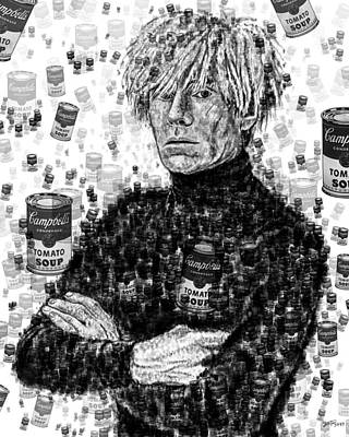 Painting - Andy Warhol by Yom Tov Blumenthal