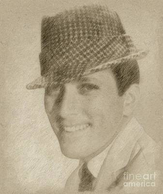 Fantasy Drawings - Andy Williams, Singer by Frank Falcon
