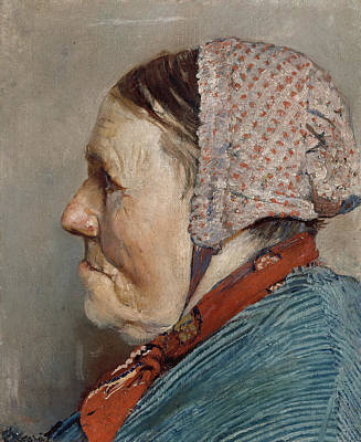 Painting - Ane Gaihede by Christian Krohg