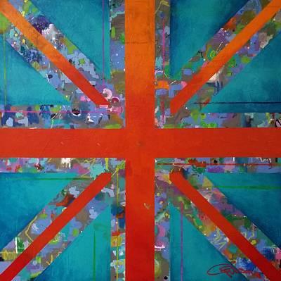 David Beckham Wall Art - Painting - Anegada by Crimson Shults