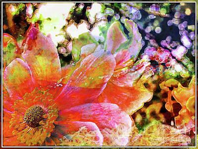 Photograph - Anemone Blossom by Jolanta Anna Karolska