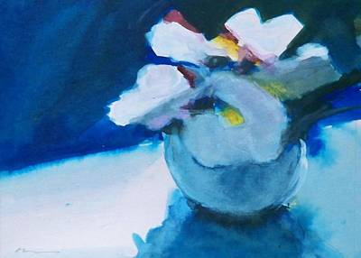 Anemones Art Print by Ed  Heaton