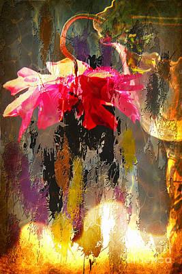 Anemone Monday Art Print by Jolanta Anna Karolska