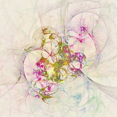 Anethene Thought  Id 16103-130011-09110 Art Print by S Lurk