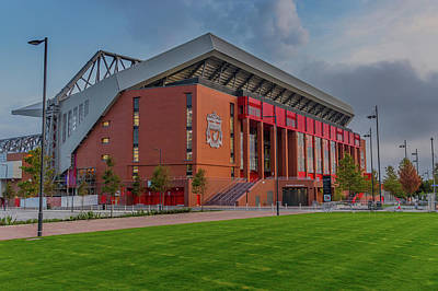 Anfield - The New Main Stand Art Print by Paul Madden
