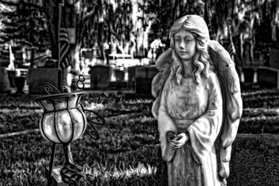 Photograph - Angel 002 by Michael White