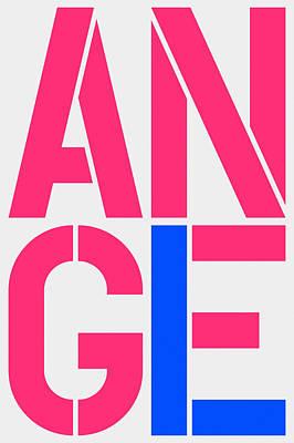 Angel-1 Art Print