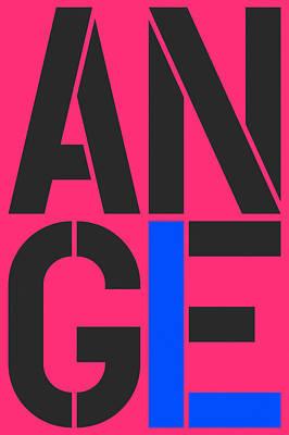 Angel-14 Art Print