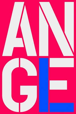 Angel-15 Art Print