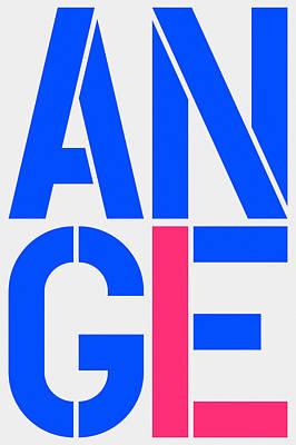 Angel-2 Art Print