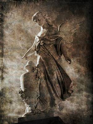 Photograph - Angel 21 by Maria Huntley