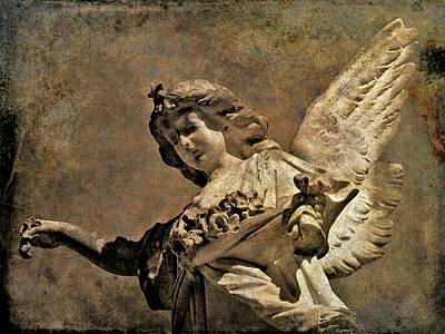 Photograph - Angel 24 by Maria Huntley